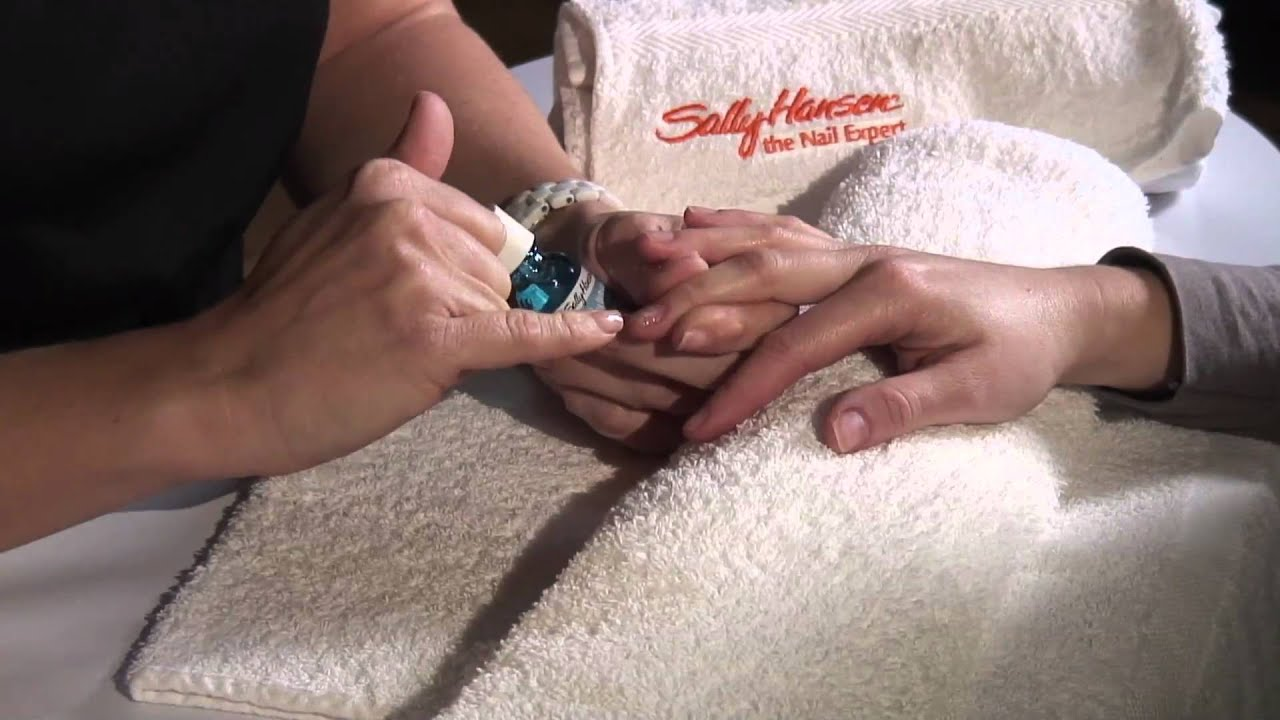 How To Treat Soft Weak Nails - YouTube