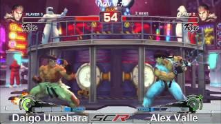 Socal Regionals 2010 - SSF4 Top 8 - Winners - Daigo Umehara vs Alex...