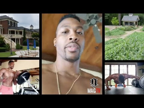 Dwight Howard Talks Wizards, Lakers And Home Garden On IG Live! (2018)