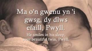 Pwyll a Macsen - Gwyneth Glyn (geiriau / lyrics)