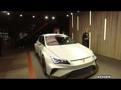 Actuoto-Salon : Cupra (SEAT Sport) au Salon de l'auto de Genève (GIMS) 2018