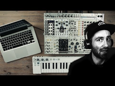 Making a song from scratch with a modular synth
