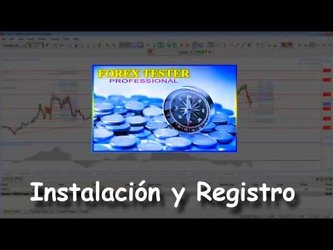 2 Forex Tester Professional: Instalación Y Registro