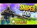 Sniper Shootout Game Mode w/ *NEW* Heavy Sniper! (Fortnite Battle Royale)