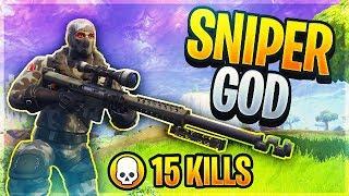 Sniper Shootout Game Mode w/ *NEW* Heavy Sniper! (Fortnite Battle Royale)