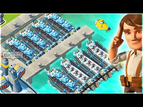 Boom Beach Tanks and Medics Rolling Over My Map!