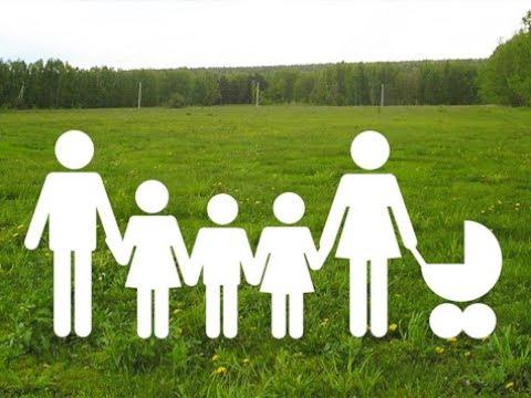 Для многодетных семей подготовили более 2 тысяч земельных участков