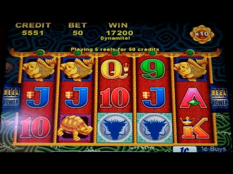 5 Dragons Slot Machine Bonus - 8 Free Games w/ 10x Multiplier - MEGA BIG WIN (#2)