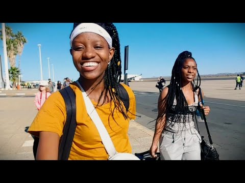 GOING HOME (Namibia) AFTER 3 YEARS |TRAVEL + VILLAGE VLOG|