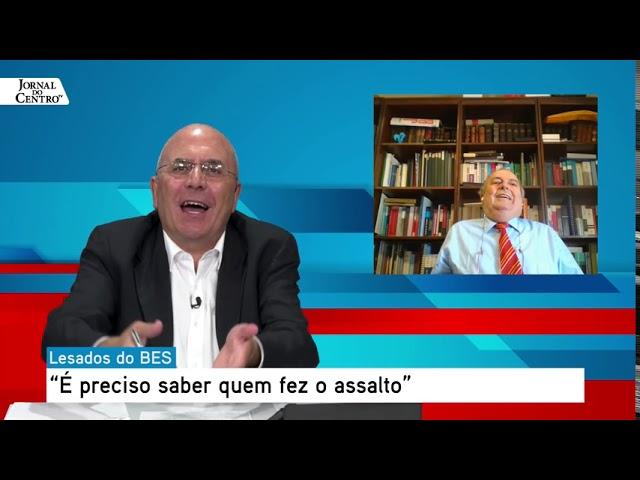 Entrevista ao Jornal do Centro - Banco Espírito Santo - Ricardo Salgado Não é principal responsável
