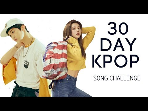 30 DAY KPOP SONG CHALLENGE IN 15 MINUTES