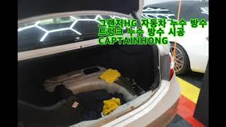 [은평구핫플레이스 캡틴홍] 자동차 누수 방수 HG 그랜…
