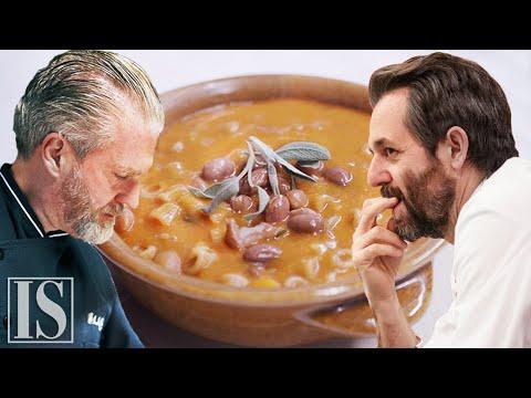 Pasta e fagioli: originale vs. gourmet - Aurelio Barattini e Cristiano Tomei