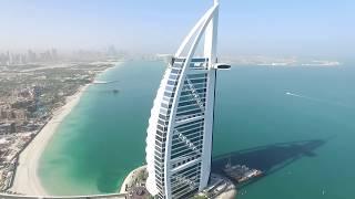 UAE, Dubai, Burj Al Arab. DJI Phantom 3