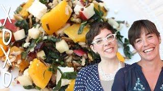 Squash Wild Rice Salad