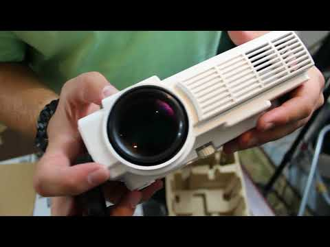 Unboxing The RCA Home Theater Projector From Walmart