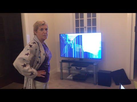 Cracked TV Screen Prank!!