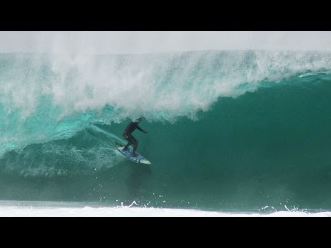 Kai Barger at Pipeline