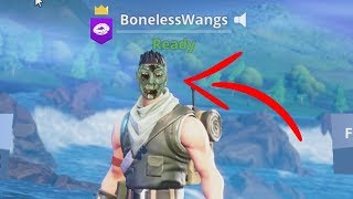 how to unlock spooky default skin on Fortnite...