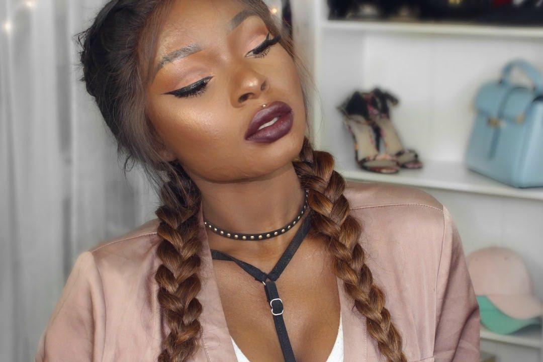 Real Instagram Baddie Makeup Tutorial Simple Amp Easy