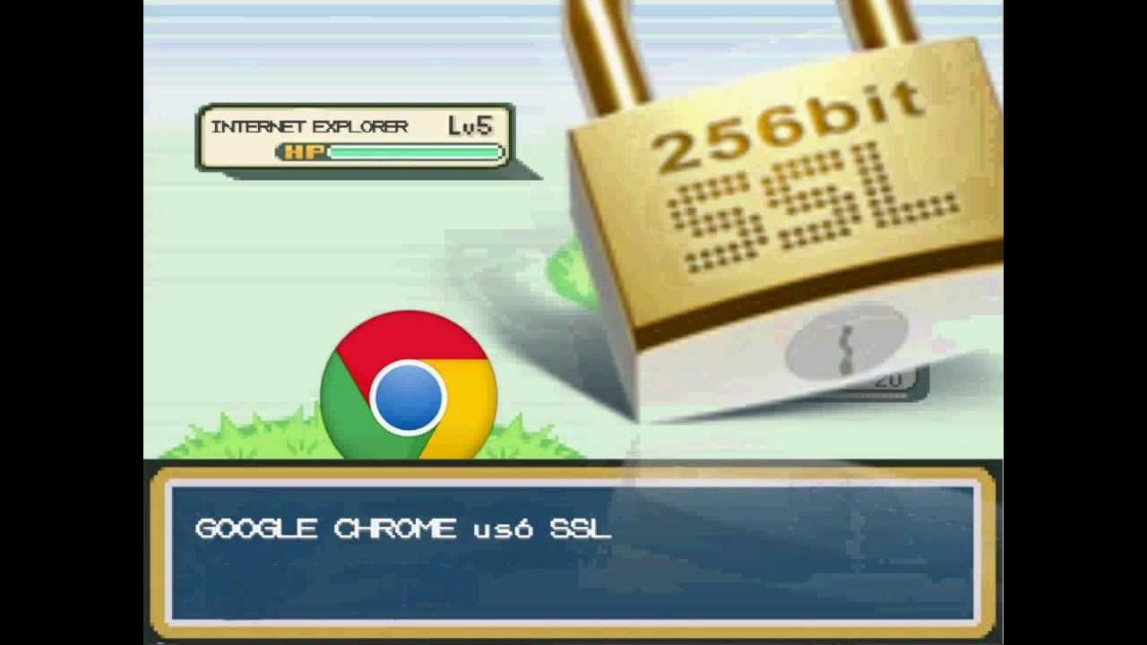 Google Chrome VS Internet Explorer (Batalla Pokémon) - YouTube