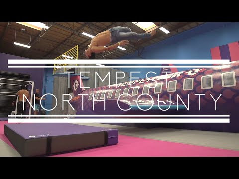 Tempest North County New Gym - Parkour & Freerunning - Rikki Carman