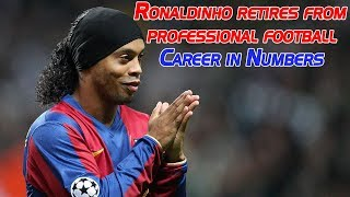 Ronaldinho retires from  professional football |  Career in Numbers