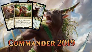 Second Harvest NM Commander 2019 MTG Green Rare