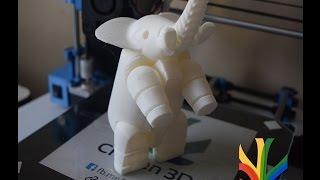 Timelapse impresion 3D Elefante en impresora 3D
