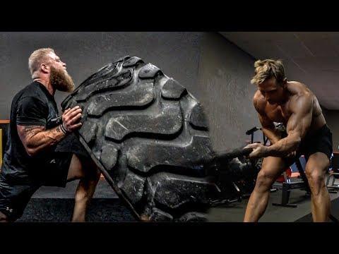 MMA Strongman Endurance Workout | Mental Fortitude Training With David Morin