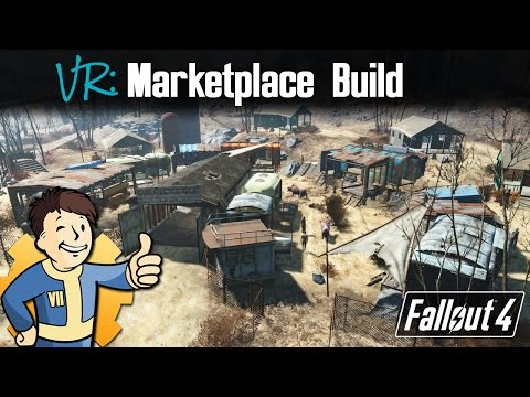 Fallout 4:  Diamond City Marketplace Build