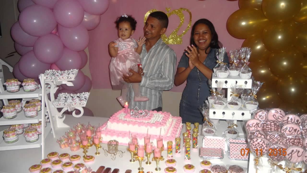 """fotos do 1 u00ba Reinado da minha princesa juju""""Festa Realeza"""" YouTube # Decoração De Festa Infantil Realeza"""