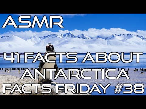 ASMR | 41 Facts About Antarctica | Whispered | Trigger Sounds After Facts | Facts Friday #38