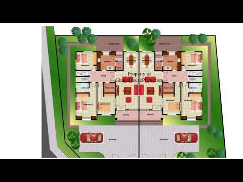 2 Bedroom House Plan In Ghana