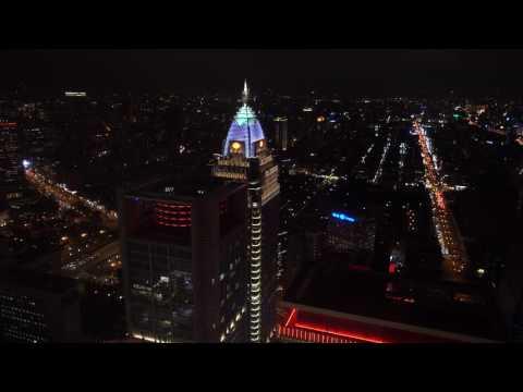 台北市區 鳥瞰景