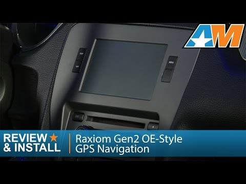 2010-2014 Mustang Raxiom Gen2 OE-Style GPS Navigation Review & Install