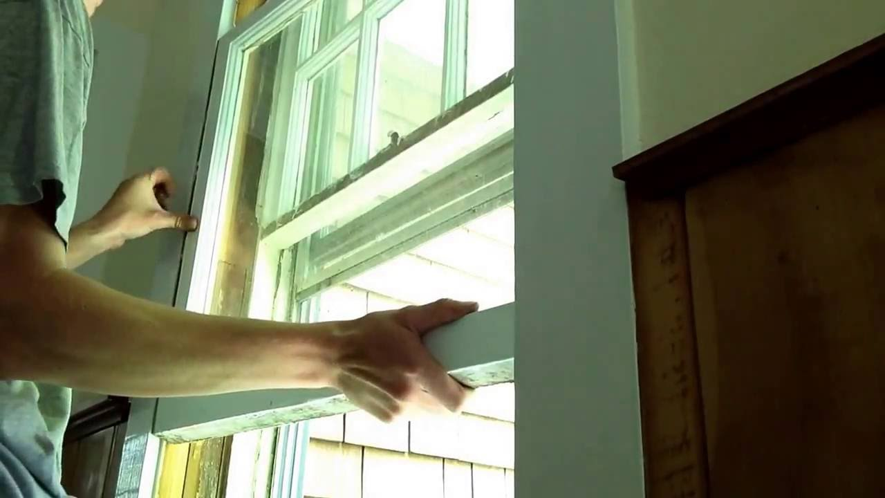 How To Repair Window Sash Rope Weights