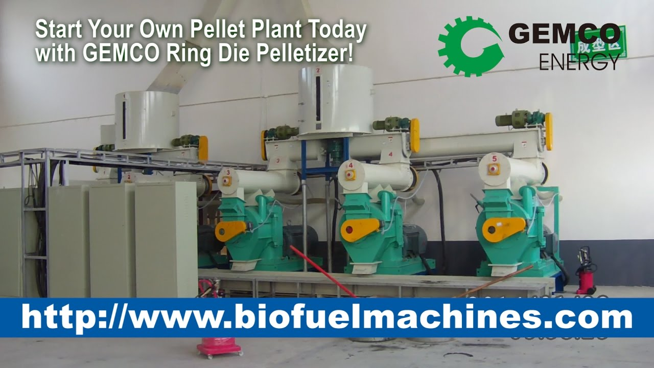 how to make biomass pellets with biomass wood pellet plant youtube