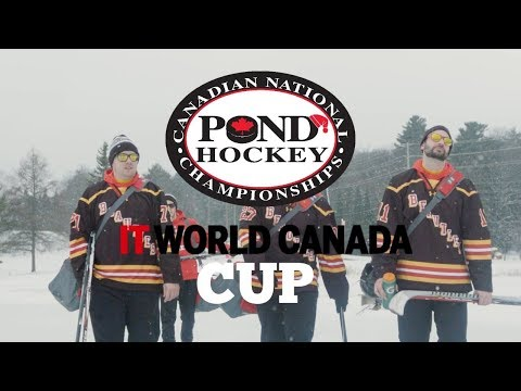 IT World Canada Cup Pond Hockey Tournament Promo