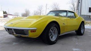 Новая жизнь ретро автомобилей: Chevrolet Corvette C3 Stingray