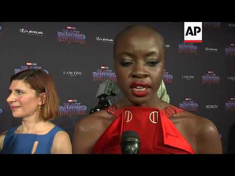 Michael B. Jordan, Lupita Nyong'o attend event to celebrate fashion in 'Black Panther'