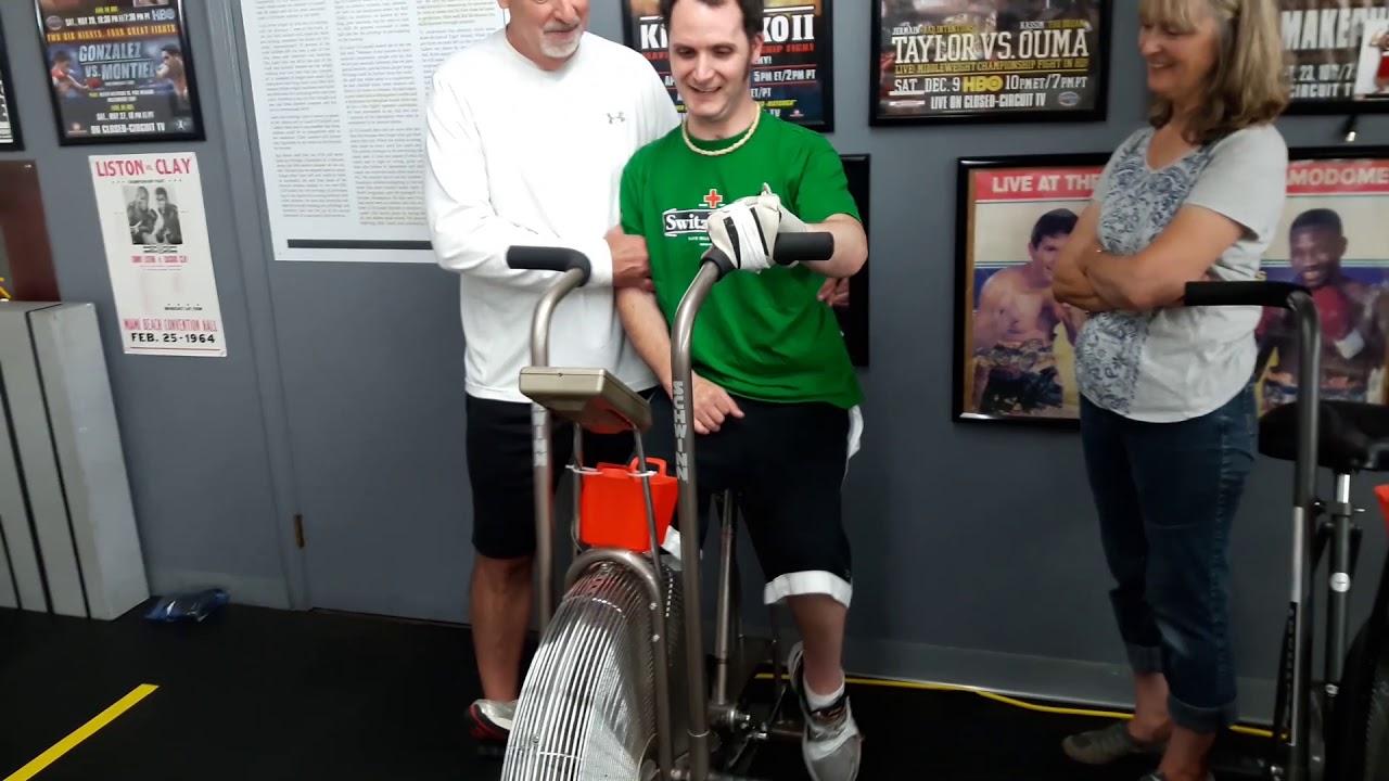 Traumatic Brain Injury & Stroke Treated at Parkinson's Boxing | Testimonial