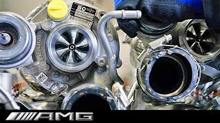AMG 63 V8 Engine Production – German Car Factory