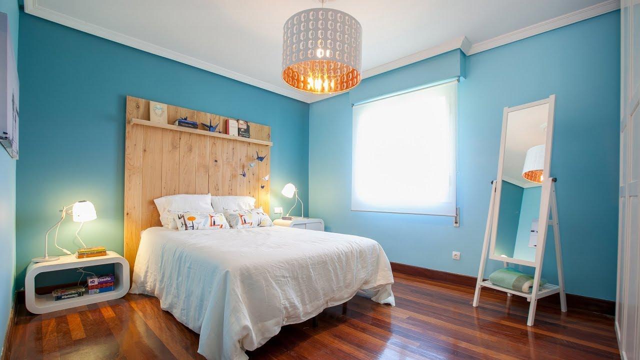 Programa completo dormitorio de matrimonio azul y blanco for Programa para decorar habitaciones online