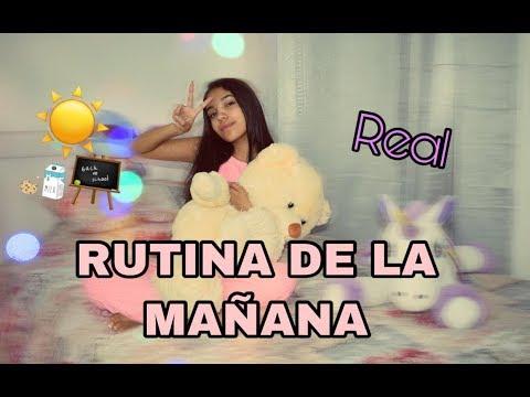RUTINA DE MAÑANA (REAL)- MORNING RUTINE/ MARI URIBE