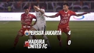 Pekan 32 Cuplikan Pertandingan Persija Jakarta Vs Madura United Fc, 13 Desember 2019