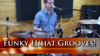Adding The Left Hand Hihat In Funky Grooves