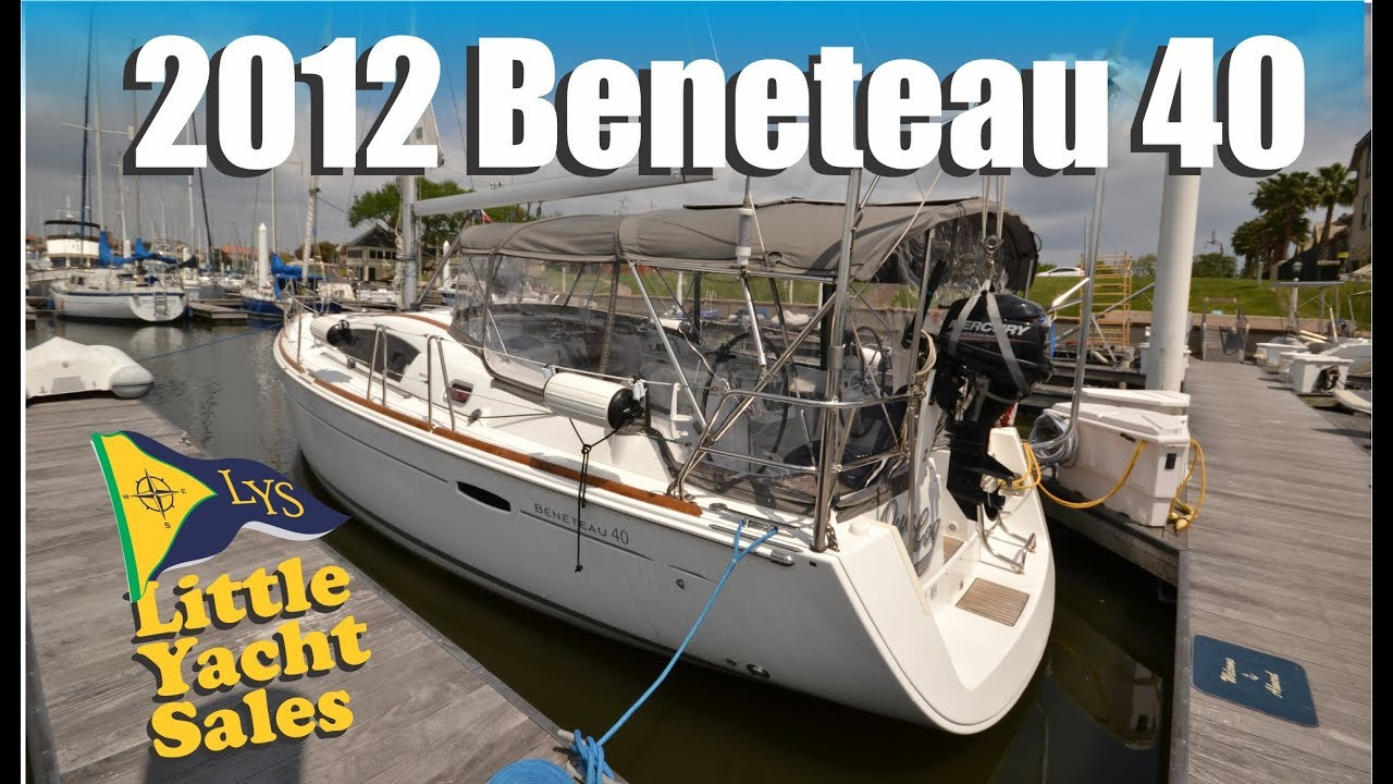 2012 Beneteau 40 Sailboat for sale at Little Yacht Sales, Kemah Texas