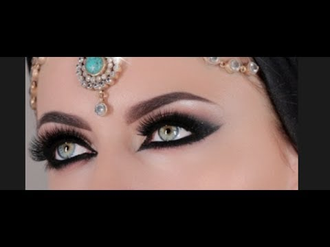 Arabian Style Makeup Tutorial - YouTube