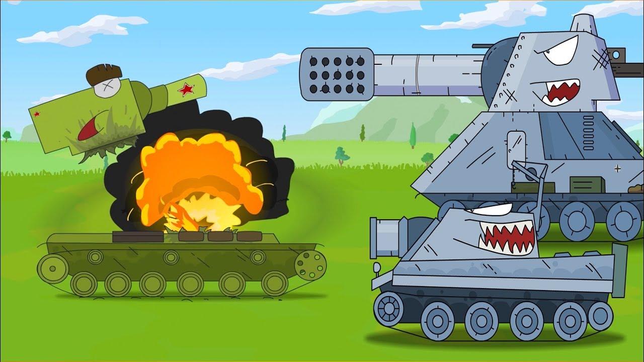 Battaglia carri armati carro armato cartone animato monster